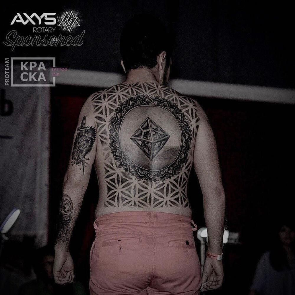 Tatuaż na plecach - symbolika